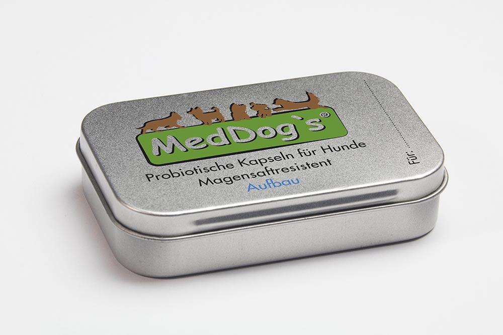 MedDogs Probiotikum für Hunde zum Aufbau der Darmflora