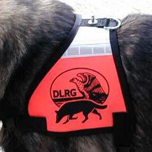 Kenndecken Rettungshunde DLRG