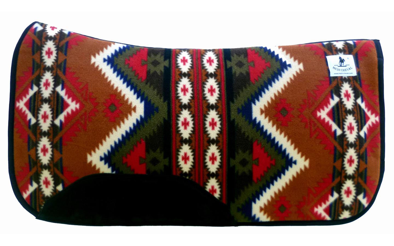 Westernpad Sattelpad Inka correction
