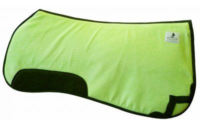 butterfly Sattelpad Westernpad Korrektur neon-grün lime