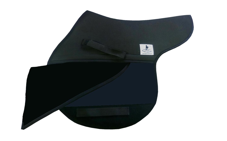 Springen Sattelunterlage Sattelform polsterbar dunkelblau