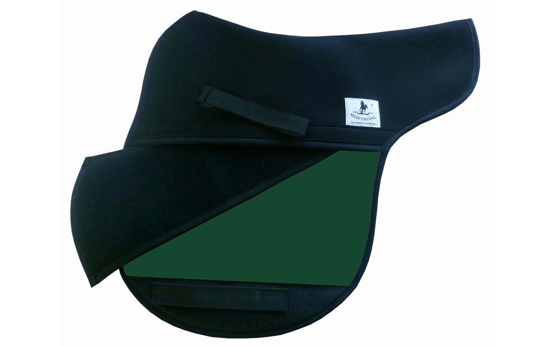 Vielseitigkeit Sattelunterlage Sattelform polsterbar grün