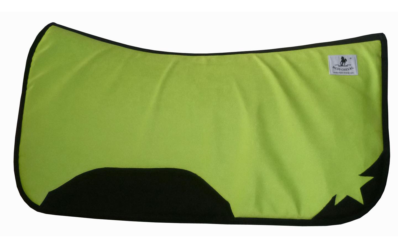 Westernpad EX anatomisch correction neon-grün lime