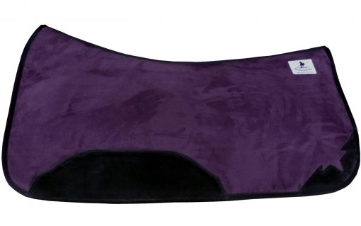 Westernpad HS aubergine anatomisch correction