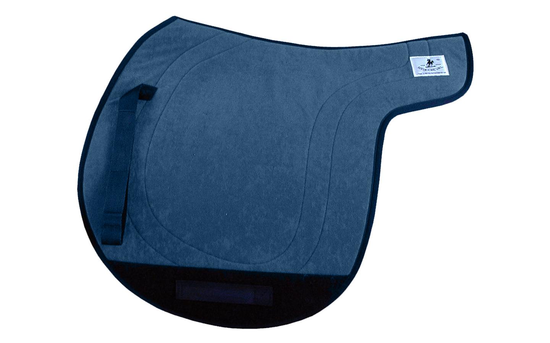 tölt Isländer Satteldecke Gangpferdedecke Sattelform breit blau
