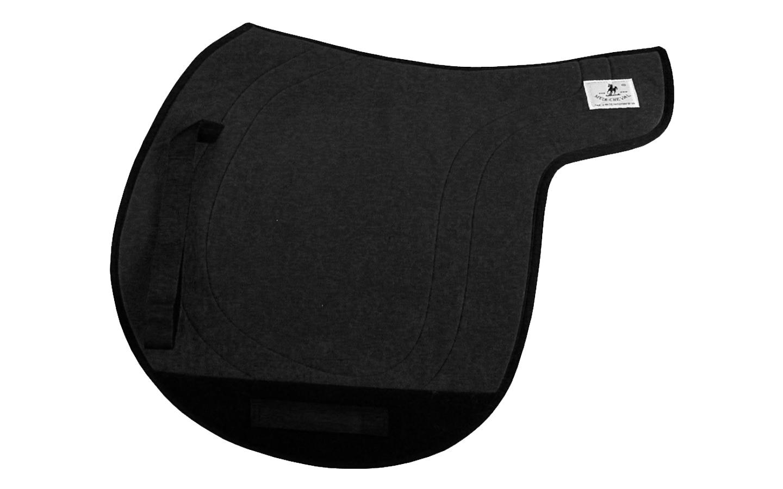 tölt Isländer Satteldecke Gangpferdedecke Sattelform breit schwarz