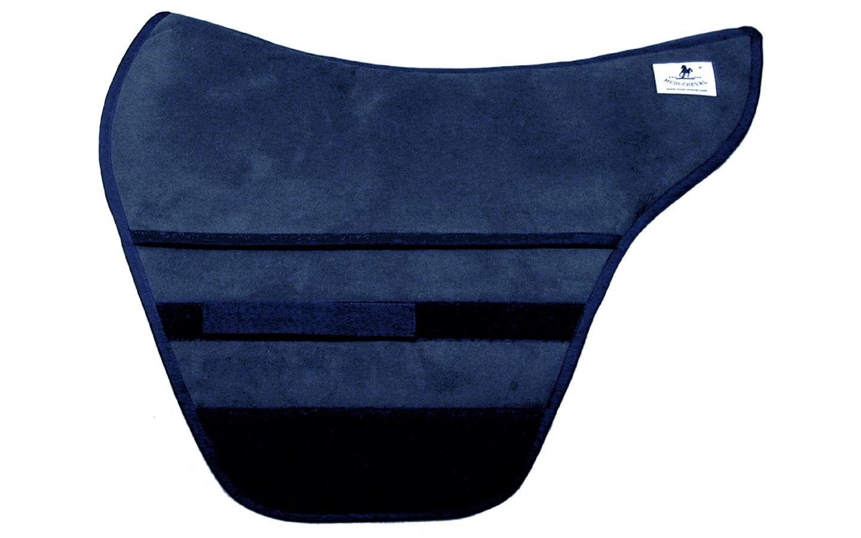 Podium Stonewall Sattelpad polsterbar braun blau