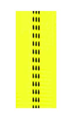 gepolsterte Bänder bi-color leucht-gelb