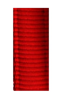 gepolsterte Bänder uni rot