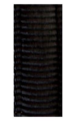 gepolsterte Bänder uni schwarz