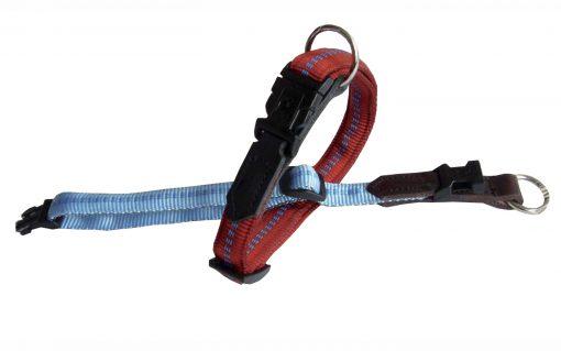 bequemes Hundehalsband gepolstert mit Leder Einsatz