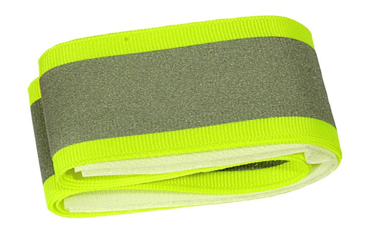 Reflexband neon grün