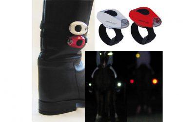 Beleuchtung für Reit Stiefel LED Sichtbarkeit Pferd