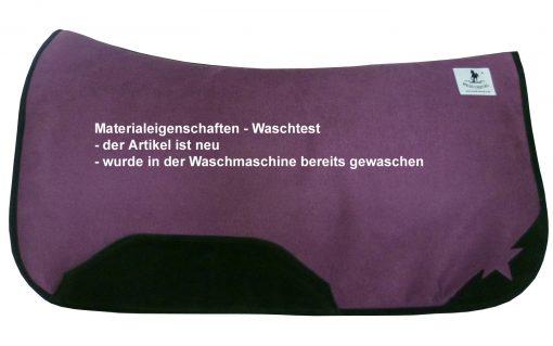 Westernpad purple günstig Waschtest