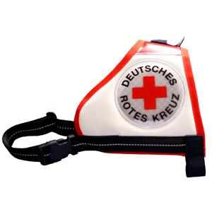 Deutsches Rotes Kreuz reflex Rettungshunde Kenndecke