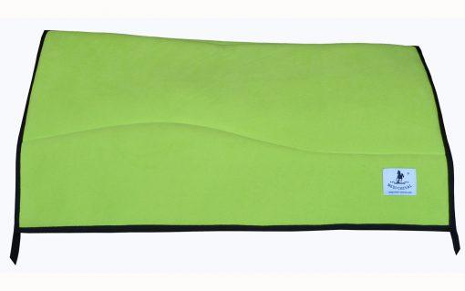Western Blanket Pad inkl 1 Zoll Padliner neon grün