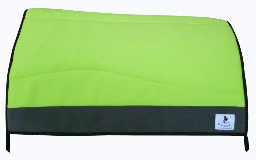 Western Blanket Pad inkl 1 Zoll Padliner neon grün grau